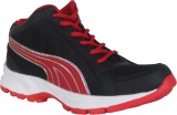 Danr Running Shoes (Black, Red)