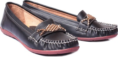 Bare Soles Bare Soles Gold Buckle Loafers