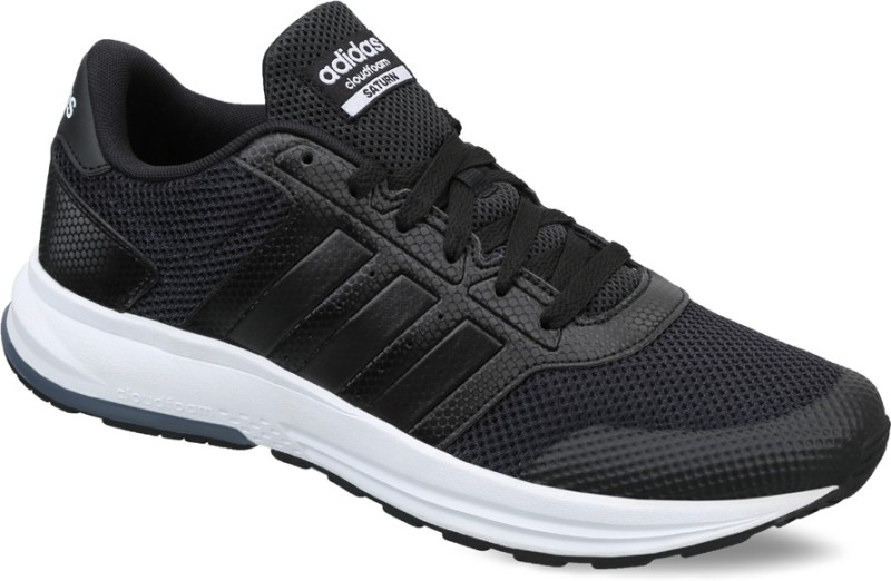 Adidas Neo CLOUDFOAM SATURN SneakersB... Men CBLACKCBLACKFTWWHT All buy at best and lowest price in India