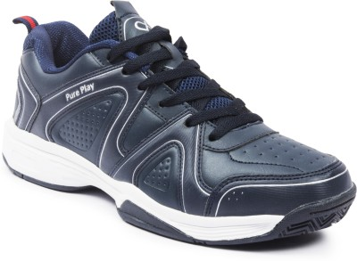 Pure Play Smash-Navy Running Shoes