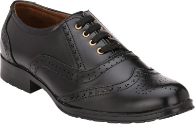 Letjio Brogues PU Lace Up