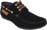 George Adam Ch2216black Boat Shoes (Blac...
