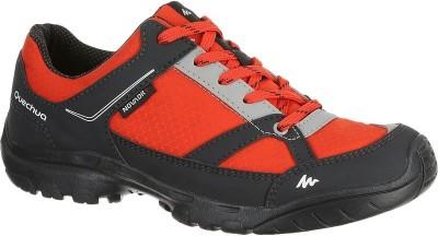 Quechua Arpenaz 50 Jr Novadry Casual Sports Shoes for Boys(Red,black)