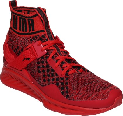 db7987f64637 Buy Puma IGNITE evoKNIT Running Shoes(Red) at best price in India - AllShoes