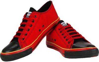 Vostro CPLUS01-Red Black Casuals