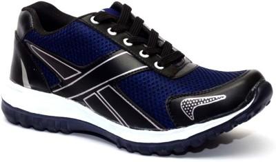 Vogue Guys Black Light Weight Running Shoes