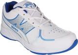 Zedrock Running Shoes (White, Blue)
