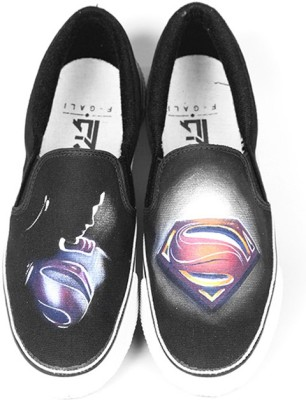 F-Gali The Man of Steel Slip-on Shoes Canvas Shoes
