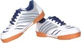 Davico Court Badminton Shoes (White, Blu...