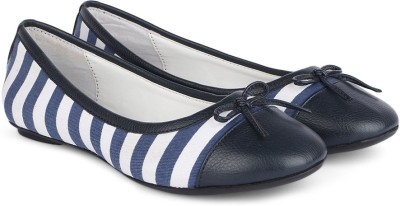Chemistry Stripe Ballerinas(Blue)
