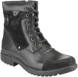 Delize T-001 -Black Boots (Black)