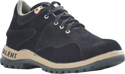 Tek-Tron Ranger Black Casual Shoes