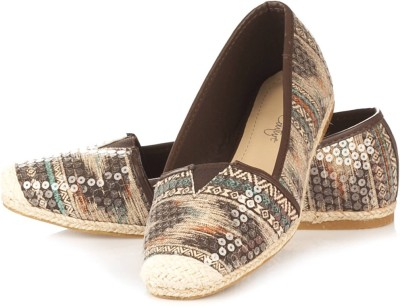 Vero Couture Sequined Brown Casuals