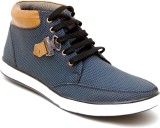 Oora Ankle Length Casual shoes (Blue)