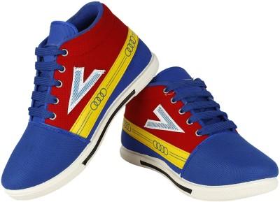 Vivaan Footwear Blue-163 Sneakers