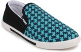 11e 11e Skyblue Canvas Slip-On Casual Sh...