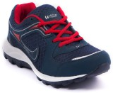 Asian Shoes Walking Shoes (Navy, Red)