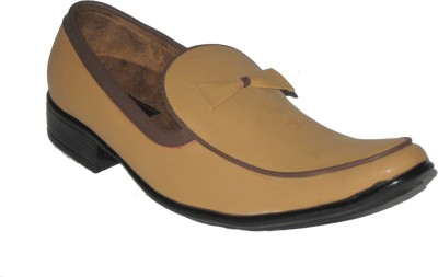 Jajos Tan Fancy Loafer Loafers