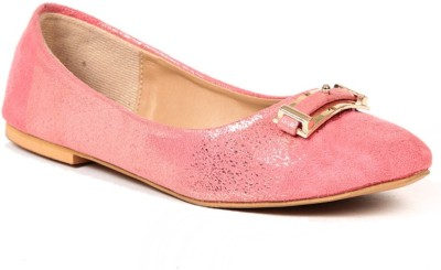 Lyc Sole Provider Pink Flat Ballerinas Bellies