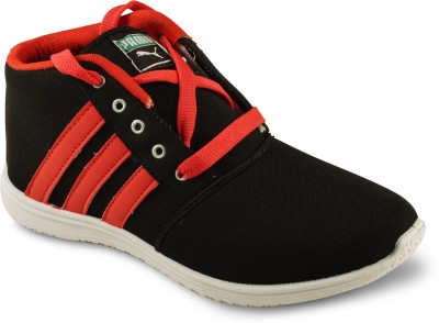 Amvi Abibas Red Casuals Shoes