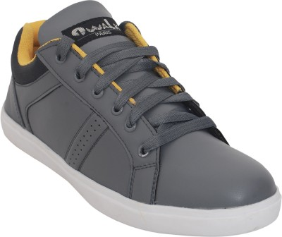 1 WALK Relaxer Comfortable And Classic Sneakers-Grey Sneakers