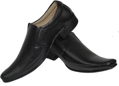 Jenfars Genuine Leather Slip On Shoes