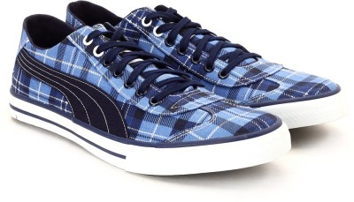 Puma 917 Gr Lo DP Men Low Ankle Sneakers(Blue)