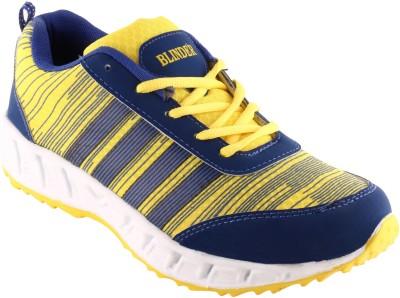 Blinder Men,s CR-003-YEL-N.BLUE Running Shoes