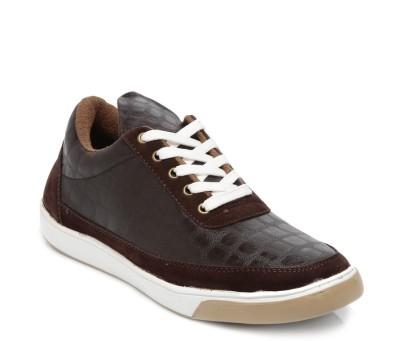 TEN Brown Leather Sneakers Sneakers
