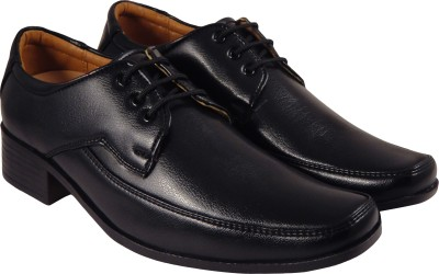 Action Synergy PUG4280 Black Formal Lace Up(Black)
