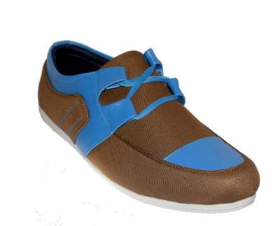 Shoekool Mustard Brown Casual Shoes