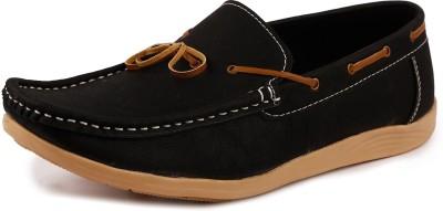 True Soles N2802 Loafers(Black)