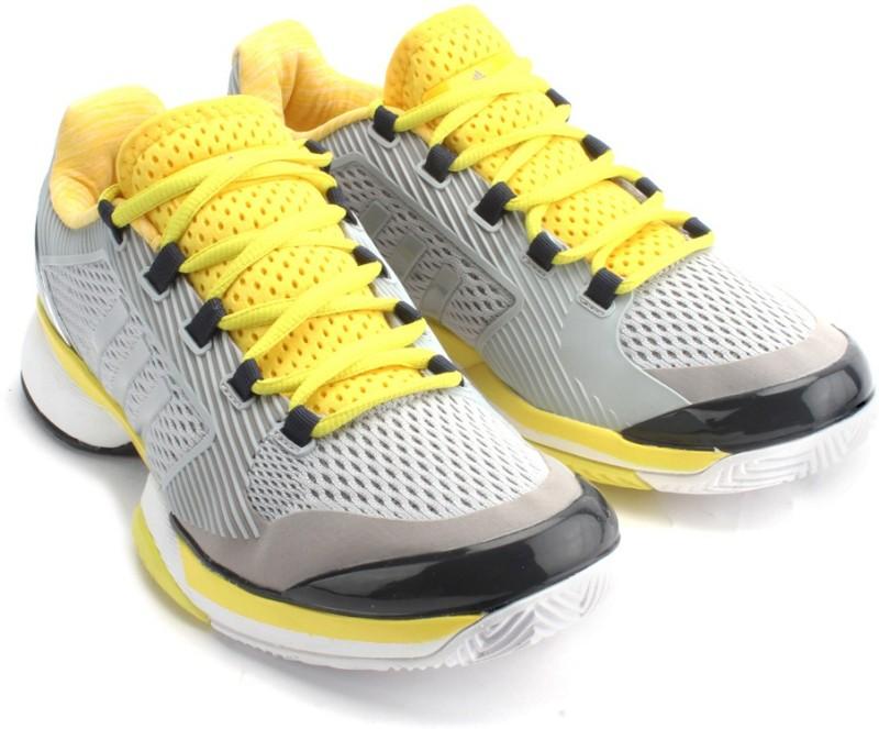 Adidas ASMC BARRICADE 2015 Tennis Shoes(Grey)