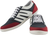 NE Shoes Canvas Shoes (Red, Grey)