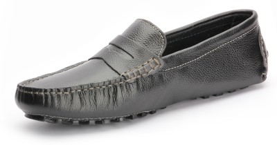 Red Kuiper Black Loafers