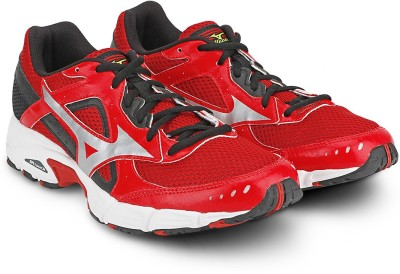 Mizuno Empower 3 Running Shoes(Red, Black, Silver) at flipkart