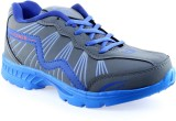 Motion Shoes Running Shoes (Grey, Blue)