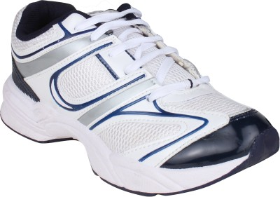 Histeria Xzone-1 White & Blue Running Shoes