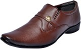 FAUSTO Slip On Shoes (Brown)