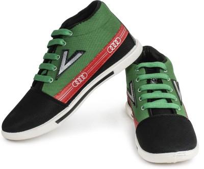 Earton Black-129 Casual Shoes