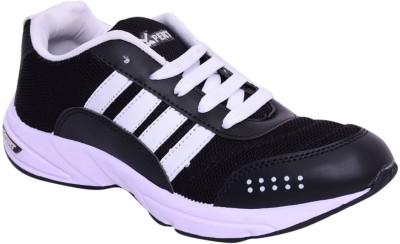 Xpert online2 black white Running Shoes
