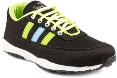 Dox Black Walking Shoes