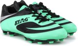 Stag Valento Football Shoes (Black, Gree...