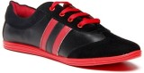 Zapatoz Black & Red Sneakers (Red, Black...