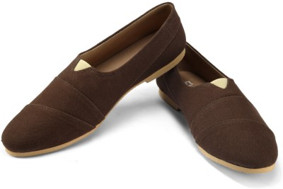 FUNK Ress Brown Canvas Shoes