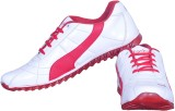 Fashy Running Shoes (White, Red)