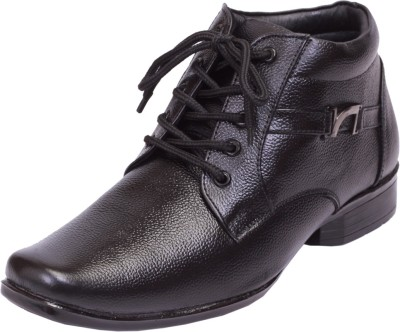 Shoebook Leather Boots(Black)