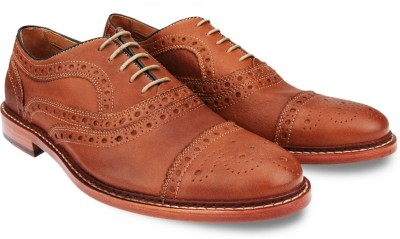 johnston&murphy Mcgavock Cap Toe Lace Up Shoes
