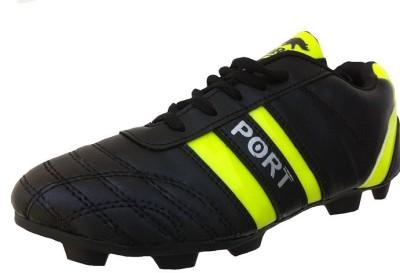 Port Black LIV345 Football Shoes(Black)