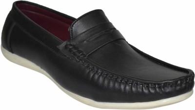 Strive Black Loafers
